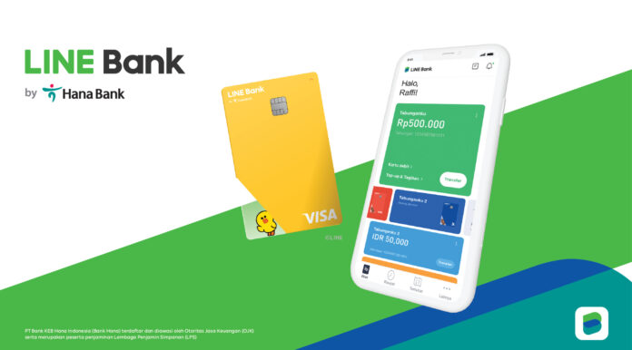 LINE Rolls Out Its Third Digital Bank in Indonesia With Hana Bank - Fintech Singapore